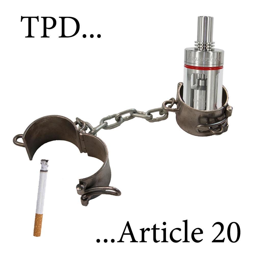 Exactly what the particular TPD plus Write-up 20 Definitely Means just for Vaping
