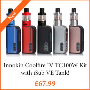 Innokin Coolfire IV TC100W Kit - TPD Compliant