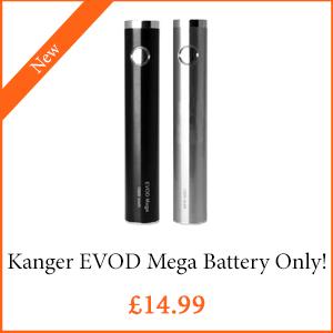 Kanger EVOD Mega Battery ONLY - TPD Compliant