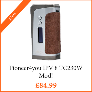 Pioneer4You IPV 8 TC230W Mod - TPD Compliant
