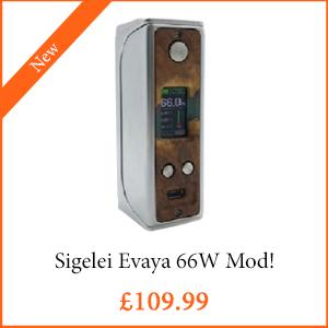 Sigelei Evaya 66W Mod - TPD Compliant