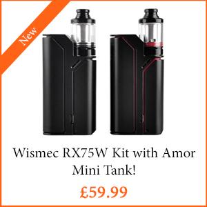 Wismec RX75W Kit - TPD Compliant