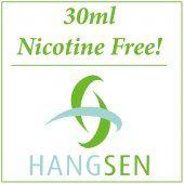 Hangsen 30ml Nicotine Free E-Liquid Range