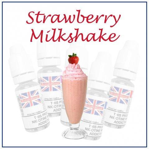 British Blend Strawberry Milkshake E-Liquid