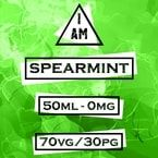 I AM Spearmint 50ml (60ml Short Fill) Nicotine Free E-Liquid