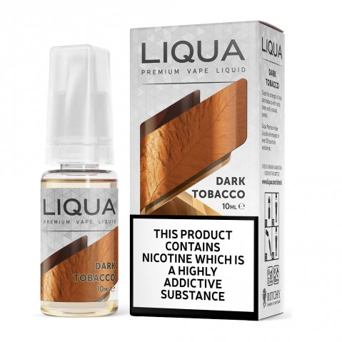 Liqua Elements Dark Tobacco E-Liquid 10ml