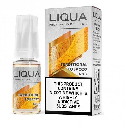 Liqua Elements Traditional Tobacco E-Liquid 10ml
