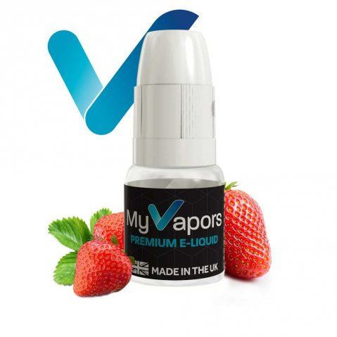 My Vapors Wild Strawberry E-Liquid 10ml