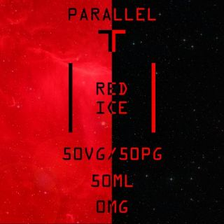 Parallel-T Red Ice 50ml (60ml Short Fill) Nicotine Free E-Liquid