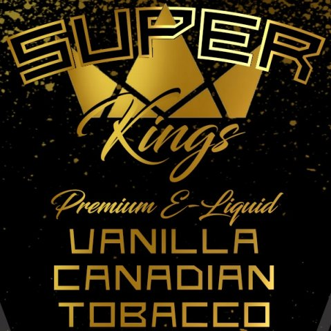Superkings Vanilla Canadian Tobacco 100ml (120ml Short Fill) Nicotine Free E-Liquid
