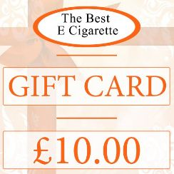 The Best E Cigarette £10 Gift Card (In-Store use)