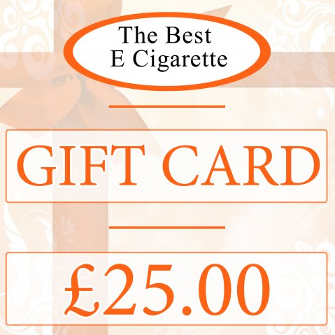 The Best E Cigarette £25 Gift Card (In-Store use)