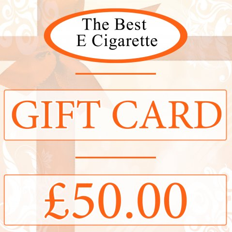 The Best E Cigarette £50 Gift Card (In-Store use)