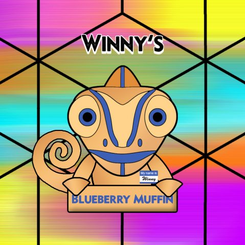 Winny's Blueberry Muffin 50ml (60ml Short Fill) Nicotine Free E-Liquid