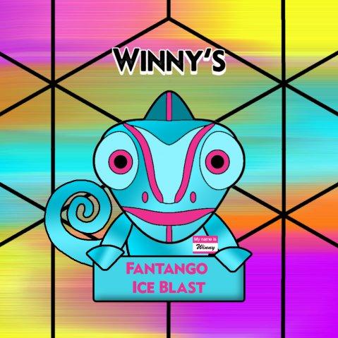 Winny's Fantango Ice Blast 50ml (60ml Short Fill) Nicotine Free E-Liquid