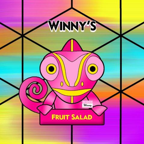 Winny's Fruit Salad 50ml (60ml Short Fill) Nicotine Free E-Liquid