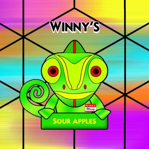 Winny's Sour Apples 50ml (60ml Short Fill) Nicotine Free E-Liquid