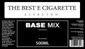 500ml Base Mix VG/PG