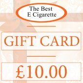 The Best E Cigarette £10 Gift Card (Online use)
