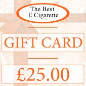 The Best E Cigarette £25 Gift Card (Online use)