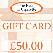 The Best E Cigarette £50 Gift Card (Online use)