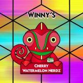 Winny's Cherry & Watermelon Nerdz 50ml (60ml Short Fill) Nicotine Free E-Liquid