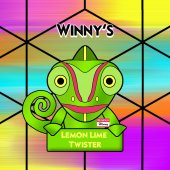 Winny's Lemon & Lime Twister 50ml (60ml Short Fill) Nicotine Free E-Liquid