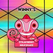 Winny's Strawberry Milkshake 50ml (60ml Short Fill) Nicotine Free E-Liquid