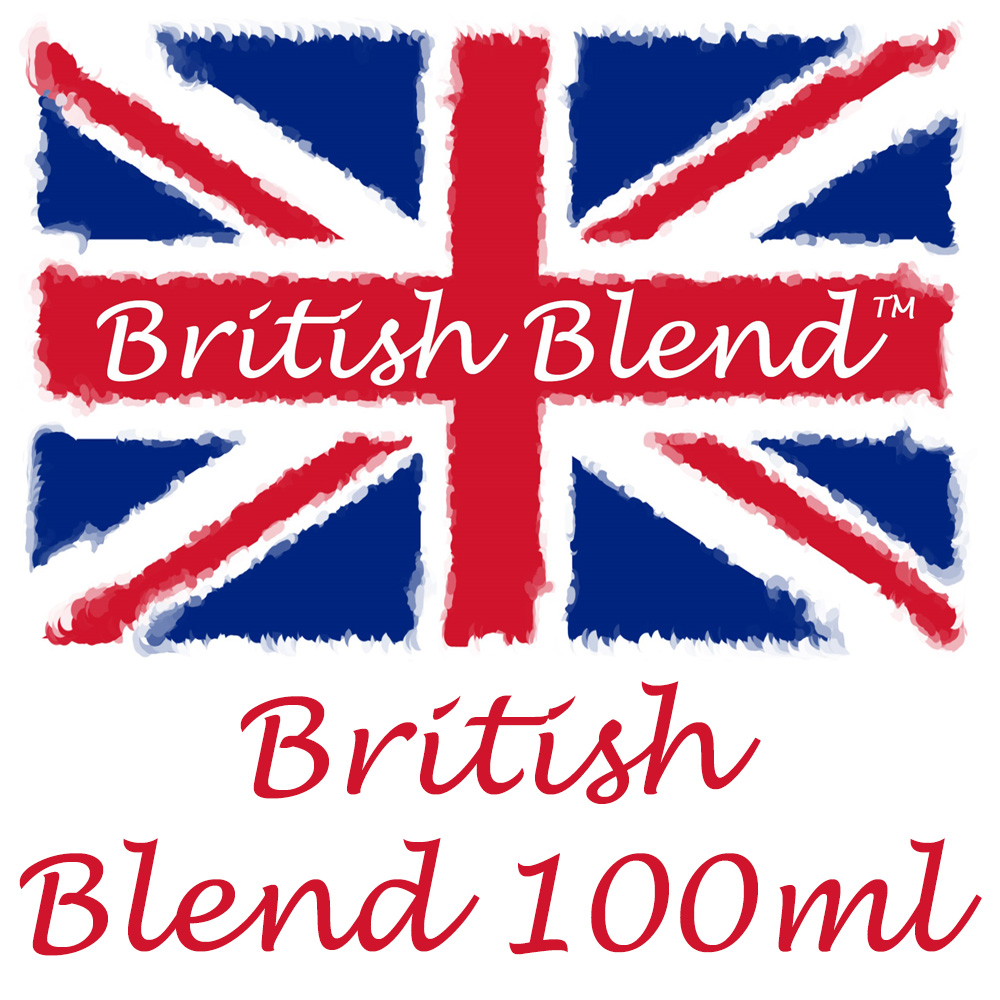 British Blend 100ml E-Liquid - Adding your own Nicotine